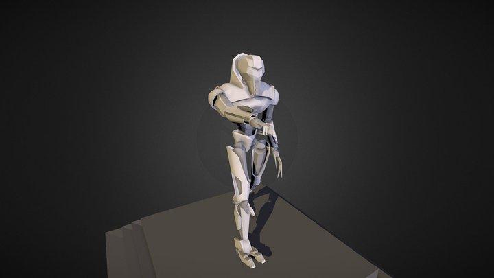 Cylon Centurion 3D Model