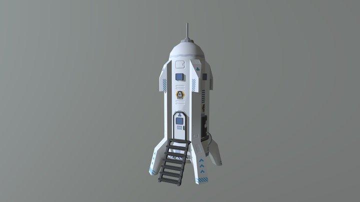 Athoros - Rocket 3D Model