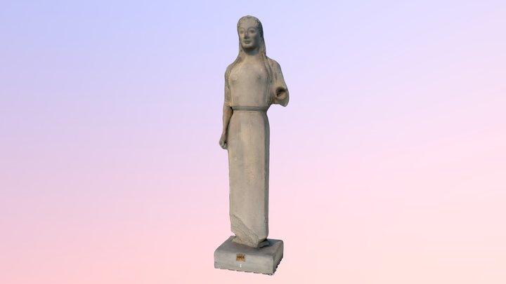 Koré au péplos - MuMo Lyon 2 3D Model
