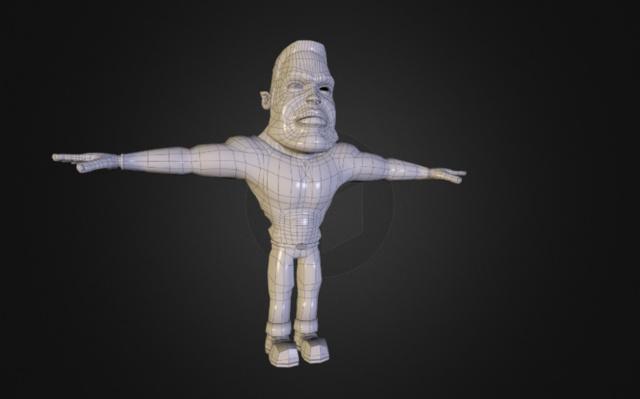 Maya Character GI 3D Model