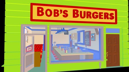 Bob's Burger Joint WIP 3D Model