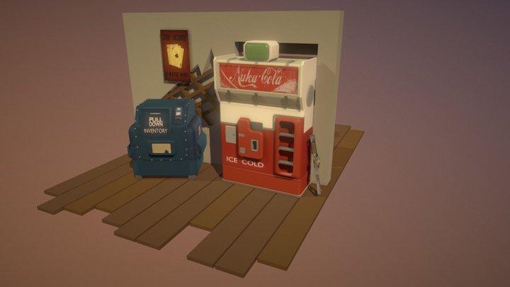 Detailed_Fallout_Stuff 3D Model