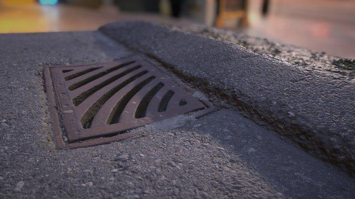 It's Not Boring, It's Grate! -Rain Water Drain 3D Model