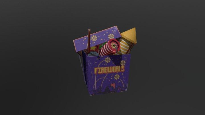 Hello Neighbor Fireworks 3D Model
