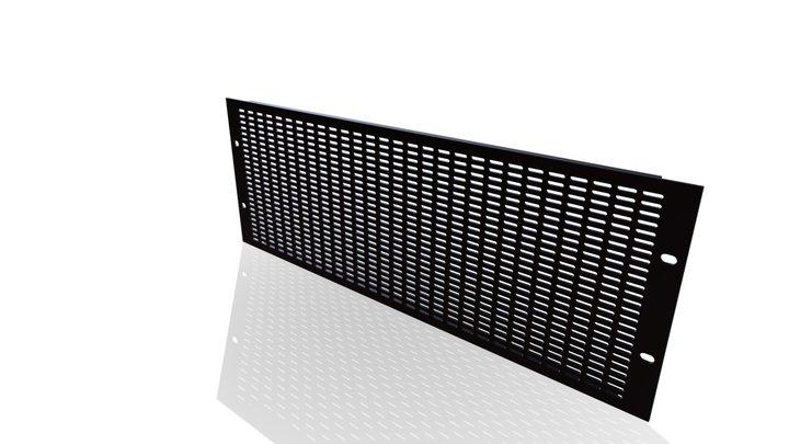 Vent Panel 4RU 3D Model