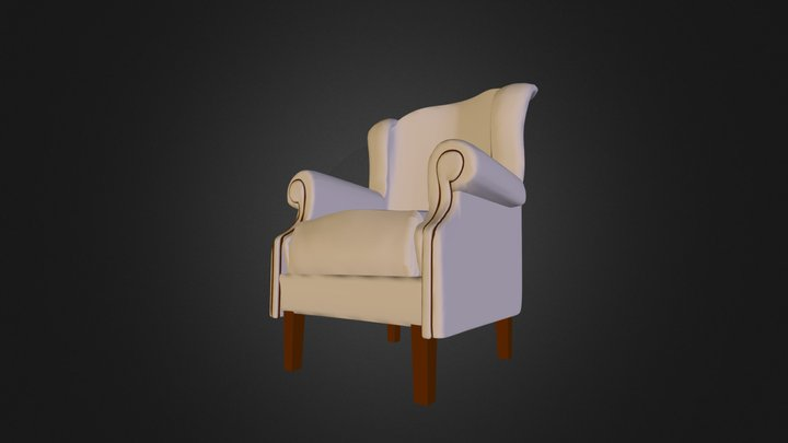 Regal armchair 3D Model