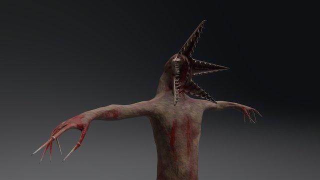 inspiration monster gameart 3D Model