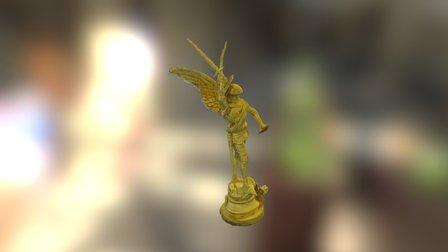 Statuette Saint-Michel 3D Model