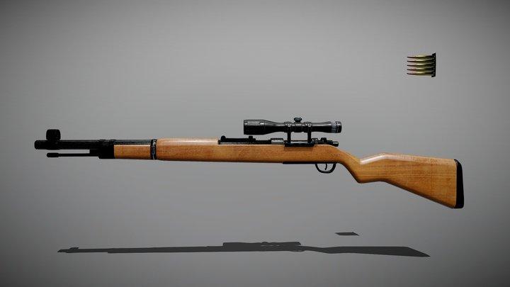 Kar 98k 3D Model