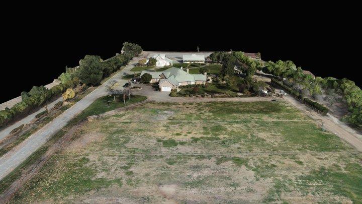 Baseline Avenue Ranch Aerial 3D Model 3D Model