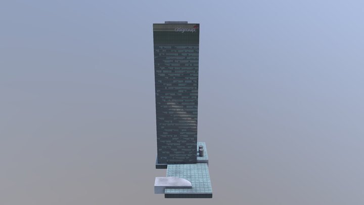 Citigroup Tower - Shanghai 13 3D Model