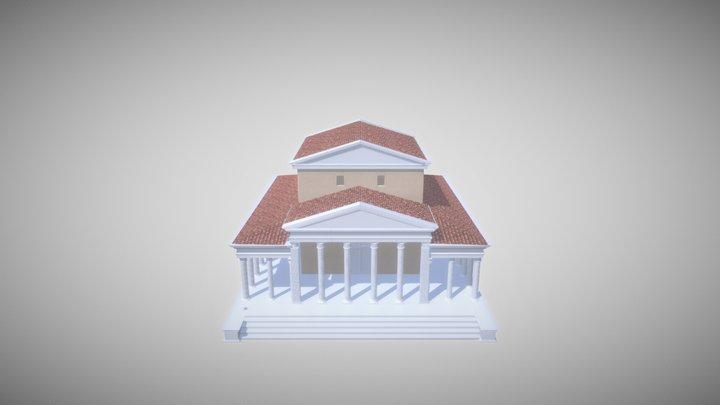 Tempel van Kessel 3D Model