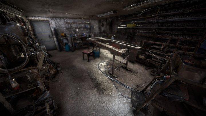 Engineer's Garage Raw 3D Scan 3D Model