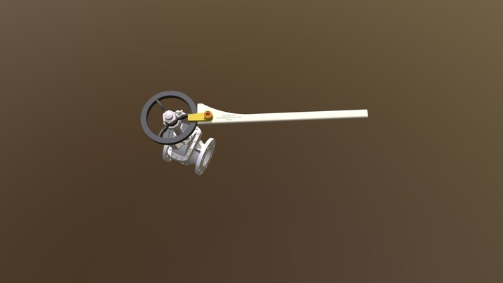 Operation Valve Tool [Small Valve] 3D Model