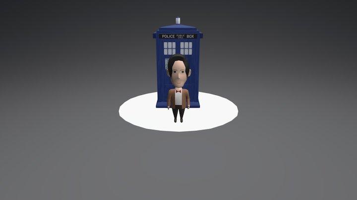 The Doctor 3D Model