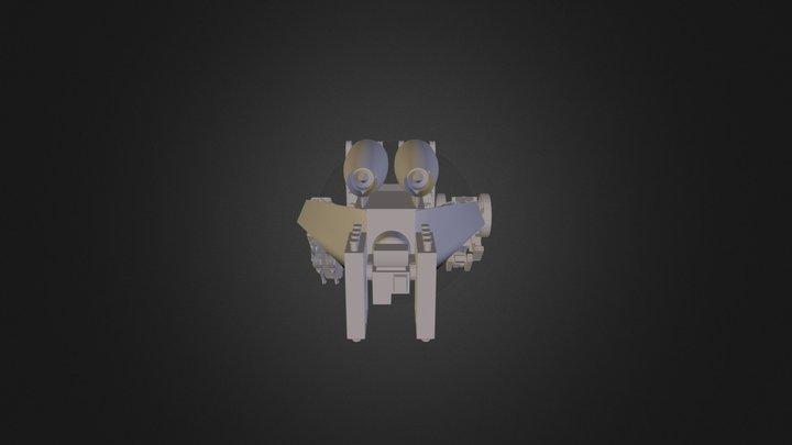 Ozelot Robot 3D Model