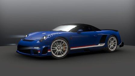 9ff GT9 3D Model