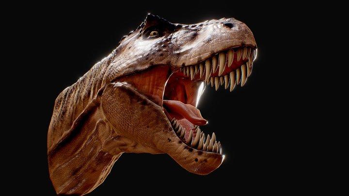 REXY Tyranosaurus 3D Model