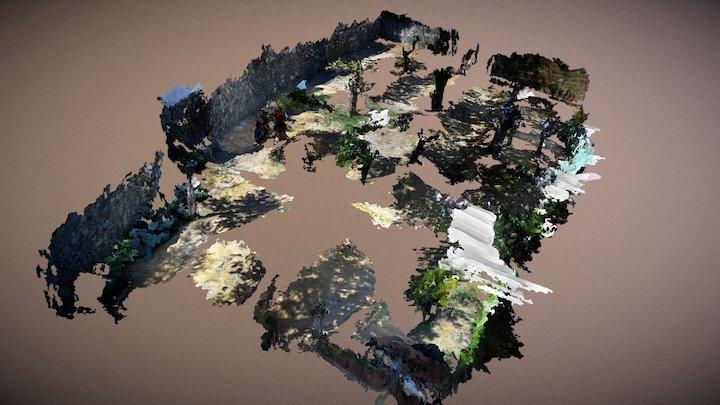 Complete orchard 3D Model