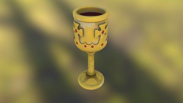 The Drunk Grail 3D Model