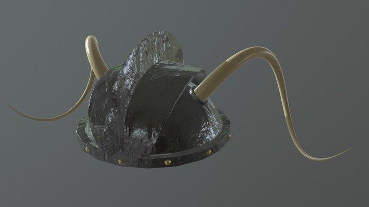 Warrior Helmet (HP) 3D Model