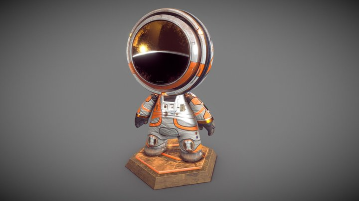 Martian MAT - please check the MATcap mode 3D Model