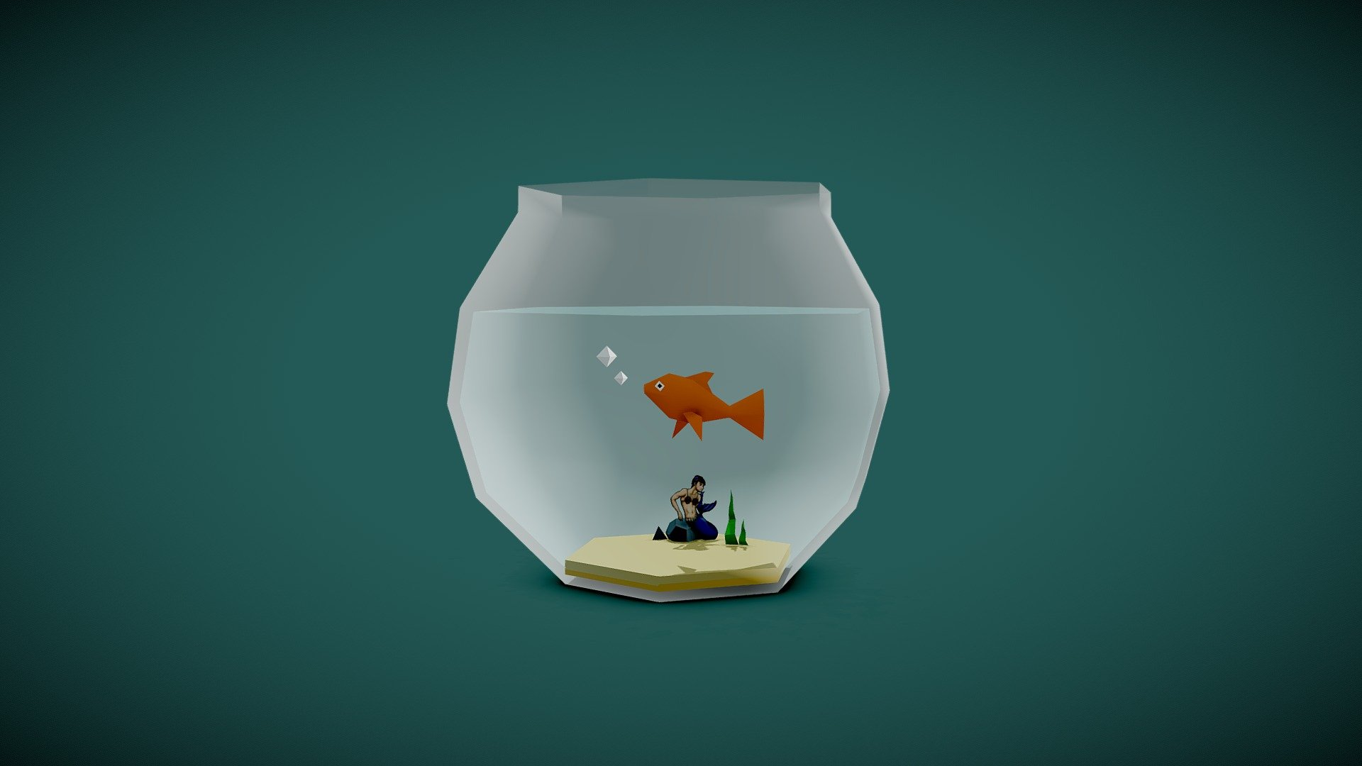 Goldfish 3D Models for Download | TurboSquid