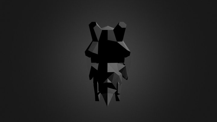Cubone (Final, hopefully) 3D Model
