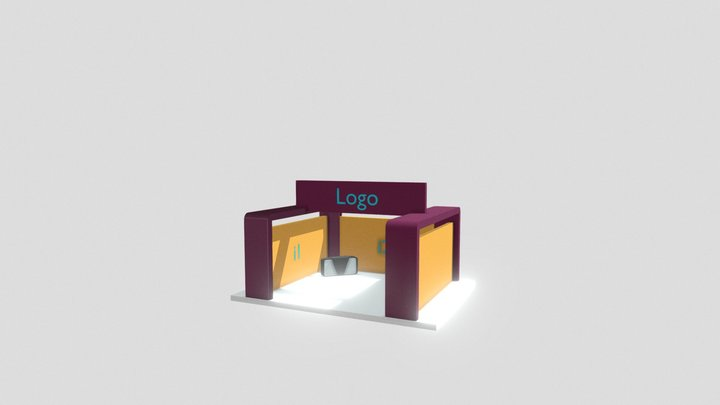 Stand Pymes EXPO COMERCIO VIRTUAL 2020 3D Model
