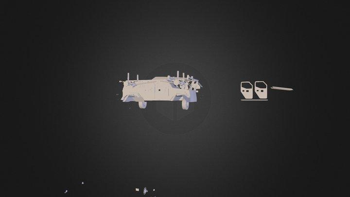 gurkha lapv 3D Model