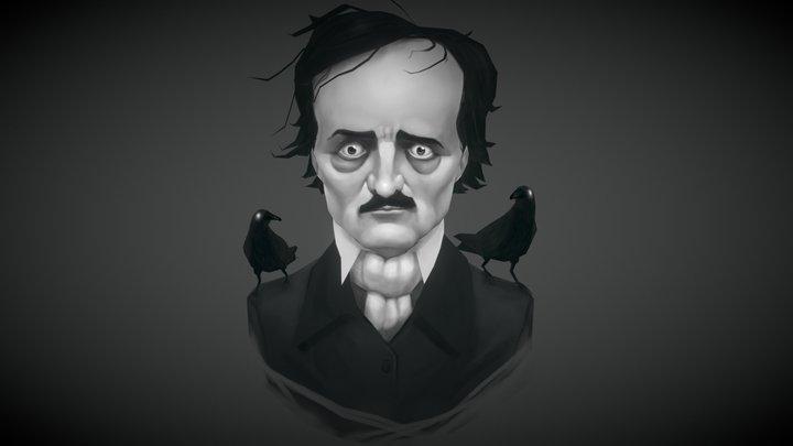 Edgar Allan Poe 3D Model