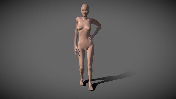 Female Study 3D Model