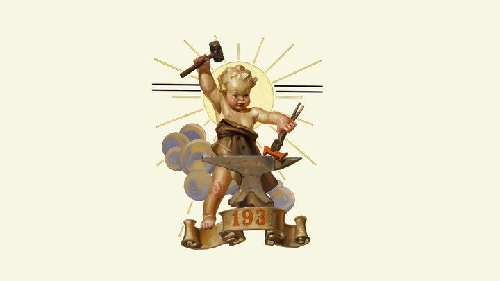 1931 Baby 3D Model