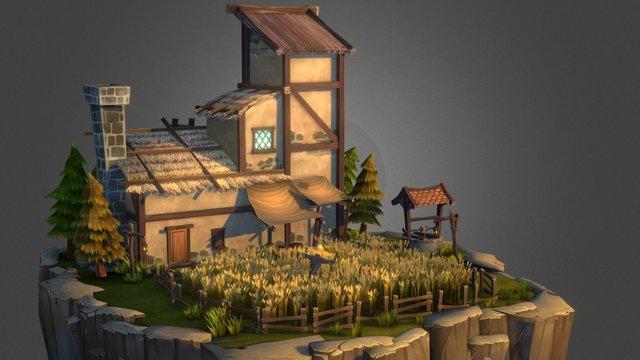 Farmer's House 3D Model