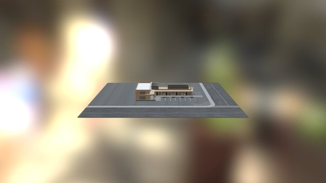 Old Town Office Building 06.10.16 3D Model