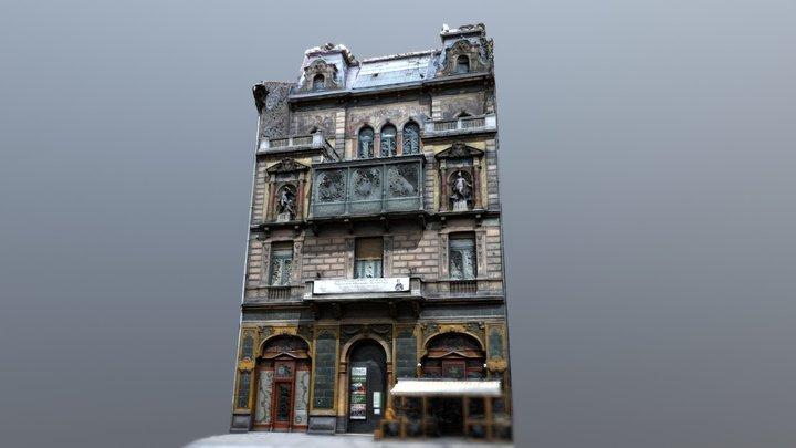 Budapest Building 02 3D Model