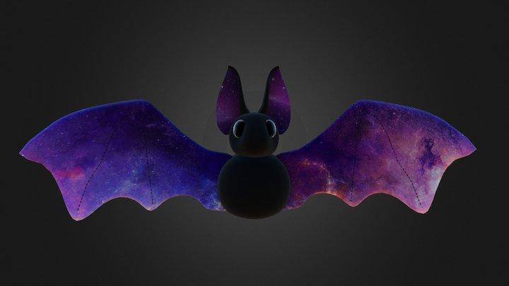 Galaxy Bat 3D Model