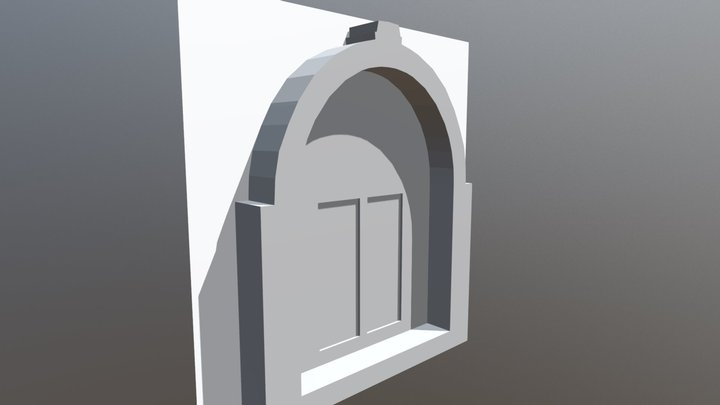 Arch environment WIP Version 1 3D Model