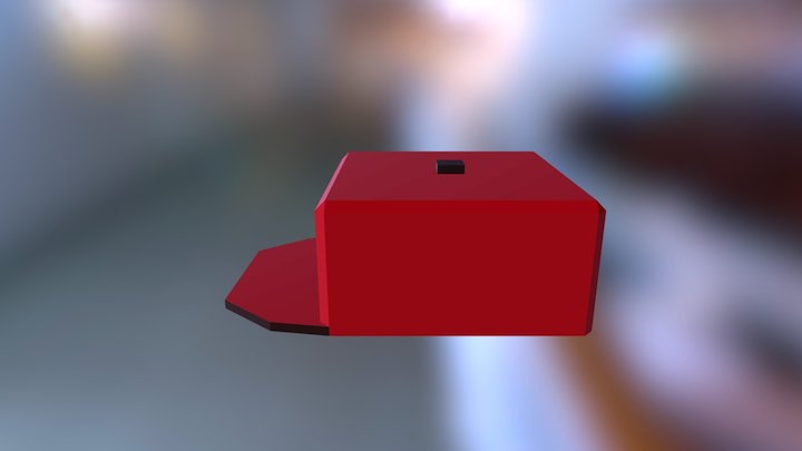 Cube Snapback 3D Model