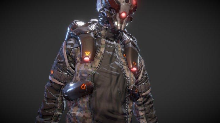 Enemy NPC 3D Model
