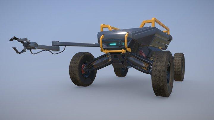 Robo-Cart 3D Model