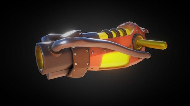Lava Gun V.2 | Ratchet & Clank 3D Model