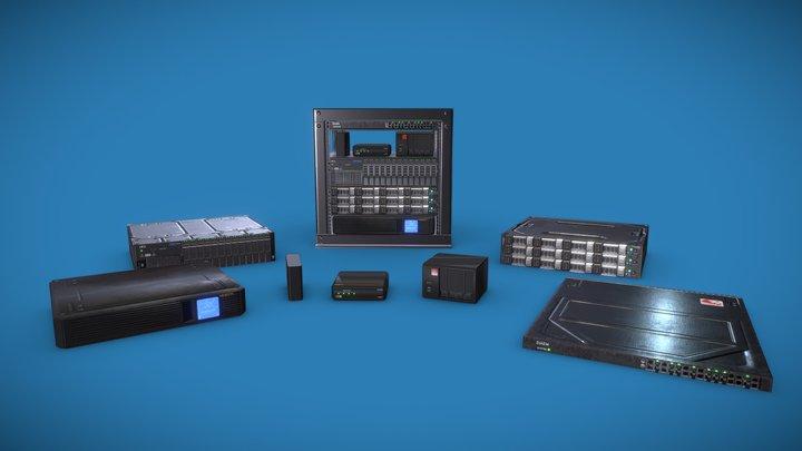 Homelab 3D Model