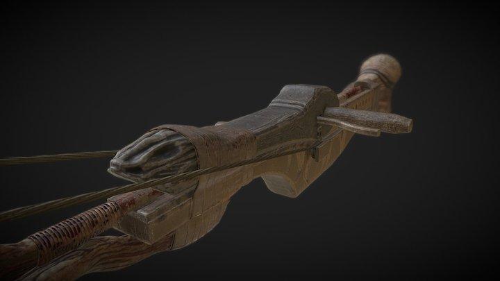 Cross Bow 3D Model