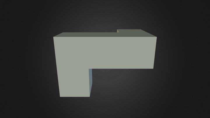 Green Piece 3D Model