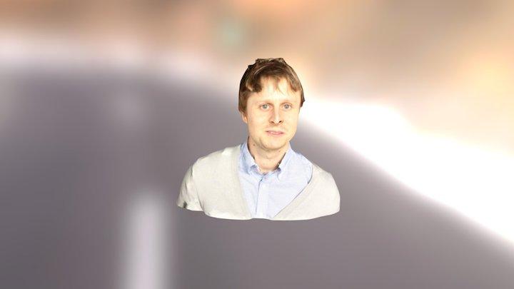 Andrew Bust 3D Model