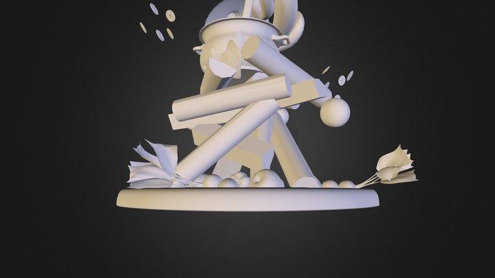 Botones Pa' Los Preguntones 3D Model