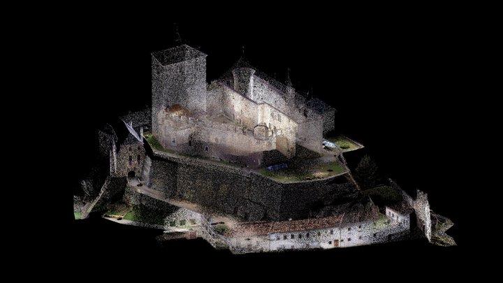 Hrad Kost 3D Model