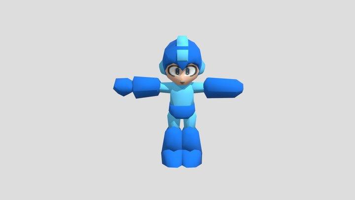 Custom Edited - Mega Man Customs - Mega Man N64 3D Model