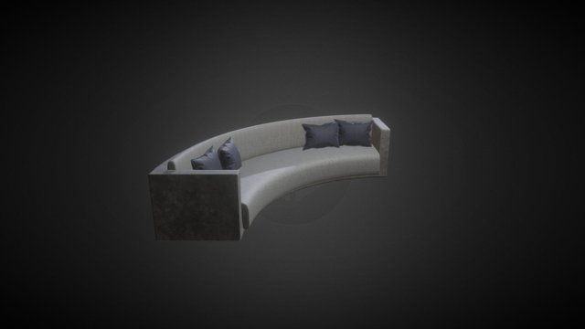 Couch Concept 3D Model
